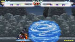 Game Naruto quyết đấu tập 4 - Naruto đánh nhau với Kisame