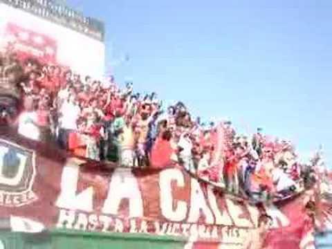 """""""La BANDA CEMENTERA en el clásico... Parte 3"""" Barra: La Banda Cementera • Club: Unión La Calera"""