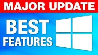 """Windows 10 Major """"October Update"""" - Best New Features! (2018)"""