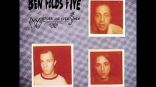 Steven's Last Night in Town- Ben Folds Five