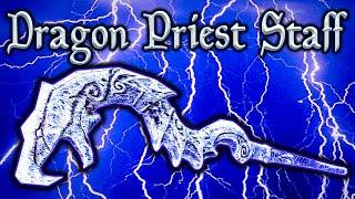 Skyrim SE - Dragon Priest Staff - SECRET Weapon Guide