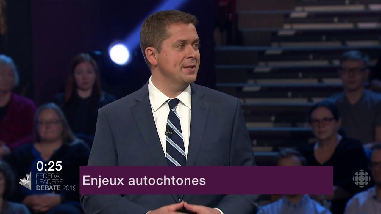 Andrew Scheer et Yves-François Blanchet sur le consentement des Autochtones aux nouveaux oléoducs