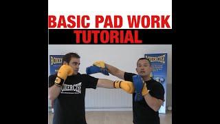 Boxercise Boxing Techniques – Pad Work
