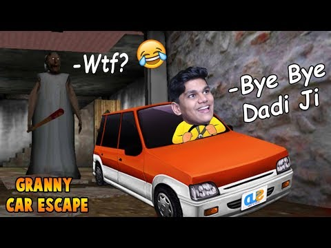 Dadi Ji Ki Car Chura Ke Bhag Gaya- Granny Car Escape (Free Android Game)