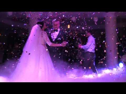 Спецефекти на  перший весільний танець, відео 3