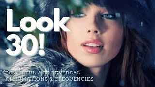 ❋ Look 30 Forever! ~ Desired Body + Youthful Energy ~ Gentle Rain Sounds