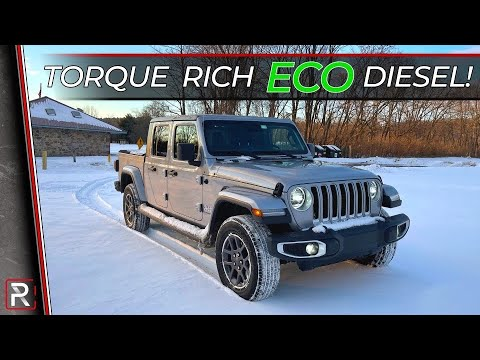 The 2021 Jeep Gladiator EcoDiesel is a Powerful & Efficient Lifestyle Truck