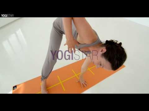 Yogamatte Basic Plus Alignment von Yogistar