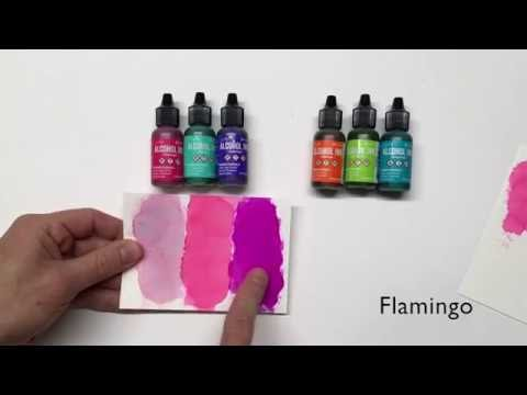 Tim Holtz® Alcohol Inks New Colors