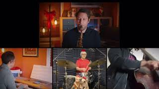 """Dave Pollack rocking """"Rudolph the red nose reindeer"""" on his 10MFAN Alto Madness alto sax mouthpiece"""