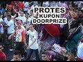 Peserta Protes Kupon Jalan Sehat Bersama Jokowi di Makassar