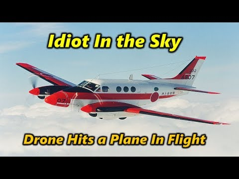 Drone Hits a Plane in Canada - Idiocy in the Sky
