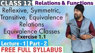 Relations and Functions Class 12 IIT JEE Mains