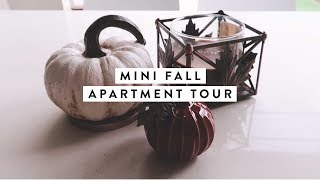 Mini Fall Apartment Tour + Unboxing iPhone 8! | A WEEK IN MY LIFE