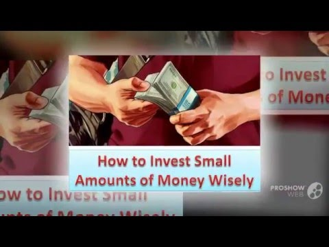 How to invest small amounts of money in cryptocurrency