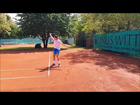 Rasmus Knieling Tennis Recruiting Video