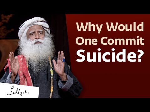 Why Would One Take Their Own Life? 🙏 With Sadhguru in Challenging Times - 14 Jun