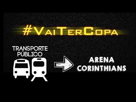 Dá pra ir tranquilo pra Arena Corinthians