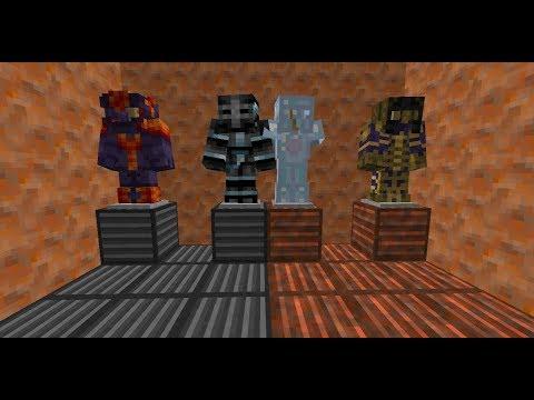 Armas, herramientas y armaduras cósmicas!! Cosmic Armory Mod para Minecraft 1.12.2