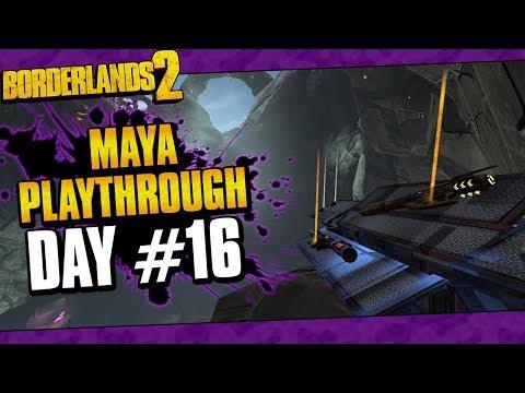 Borderlands 2 | Maya Reborn Playthrough Funny Moments And Drops | Day #16