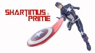 Marvel Legends Secret War Captain America 2016 Abomination BAF Wave Comic Toy Action Figure Review