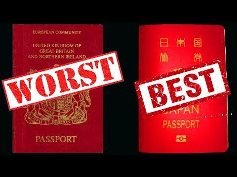2020's MOST POWERFUL PASSPORTS IN THE WORLD | HENLEY PASSPORT INDEX 2020 | HD