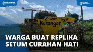 Warga Terdampak Proyek Tol Jogja-Solo di Klaten, Buat Monumen AlatSetum untuk Tuangkan Aspirasi