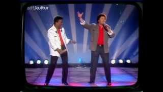 Tony Marshall & Roberto Blanco - Resi bring Bier  - ZDF-Hitparade - 1990