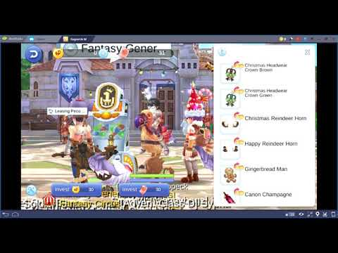 Ragnarok M Eternal Love - Fantasy Generator Feast Christmas