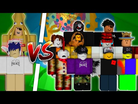 PinkLeaf & Squid Magic VS 10 Pros!   Tower Of Hell   Roblox