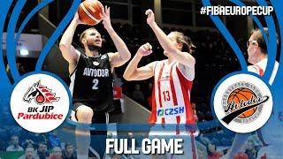 BK JIP Pardubice (CZE) v Avtodor Saratov (RUS) - Full Game - FIBA Europe Cup 2018-19