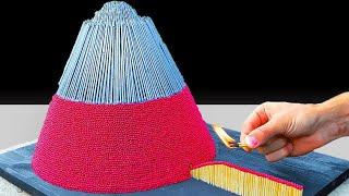 Testing Insane Pyramid Matchstick Creations