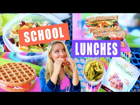 Video DIY Healthy School Lunch Ideas!