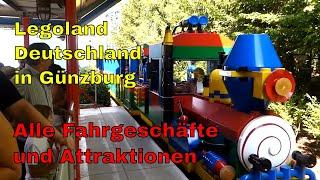 Legoland Deutschland in Günzburg - Achterbahnen im Freizeitpark - R.A.N.-Ausflugstipp für Familien -