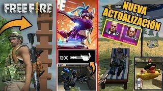 Toda la Nueva Actualización de FREE FIRE - Nuevo Personaje, Nuevas Armas, Torre Portátil y Más!!