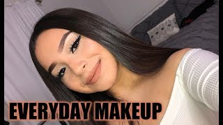 EVERYDAY MAKEUP LOOK | QUICK FACE BEAT ♡