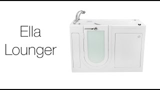Lounger Walk-In Tub Video