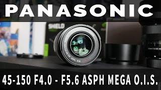 Panasonic Lumix 45-150mm Lens REVIEW f/4 - f/5.6 - Best Budget Tele Zoom? (4K)