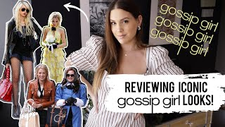 REVIEWING ICONIC GOSSIP GIRL LOOKS | MELSOLDERA