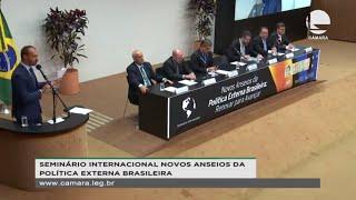 Relações Exteriores - Seminário - 21/11/2019 09:00