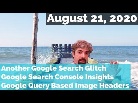 Outra falha na classificação da pesquisa do Google, insights do Search Console e cabeçalhos do Google com imagens 1