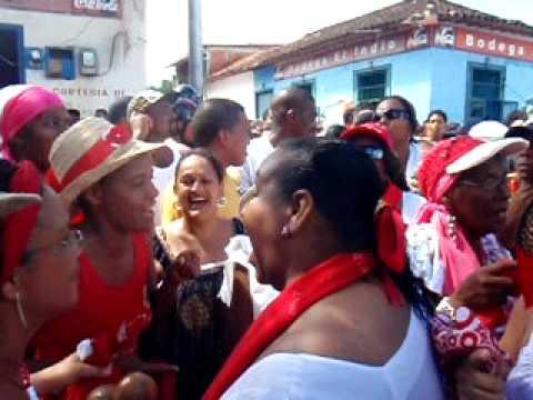 San Juan de Curiepe: Repique 1ero de Junio, curieperas cantando Mina
