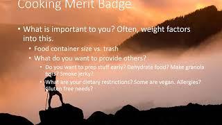 Cooking Merit Badge Part 2