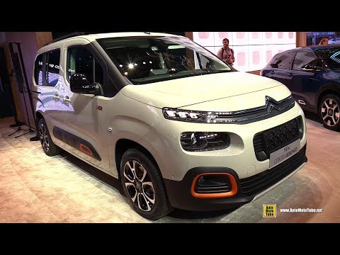 2019 Citroen Berlingo - Exterior and Interior Walkaround - 2018 Geneva Motor Show