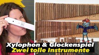 Backstage bei SONOR - Wie wird ein Xylophon hergestellt? Für Kids! Abenteuer mit Simone Ludwig!