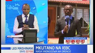 Mkutano wa IEBC, NASA na Jubilee