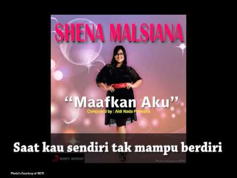 SHENA MALSIANA - Maafkan Aku (Lyrics Video)