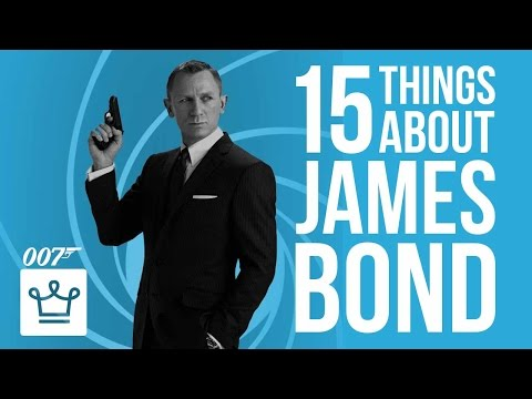 15 Things You Didn't Know About James Bond