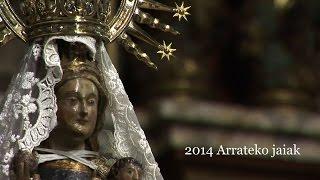 preview picture of video 'Vídeo Resumen de las fiestas de Arrate 2014 en Eibar'