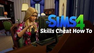 The Sims 4: Fulfill Skills CHEAT